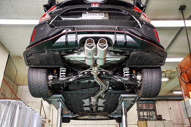 hks hi power spec l exhaust system for