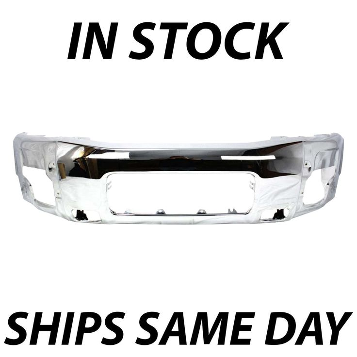 Awesome Awesome NEW Chrome Front Bumper Face Bar Replacement For 2004-2014 Nissan Titan Armada 2018