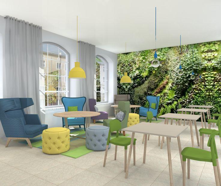 Projekt kawiarni w Centrum Przyrodniczym w Zielonej Górze