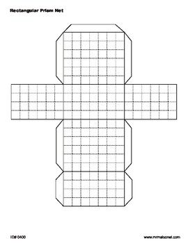 Superb image pertaining to rectangular prism net printable