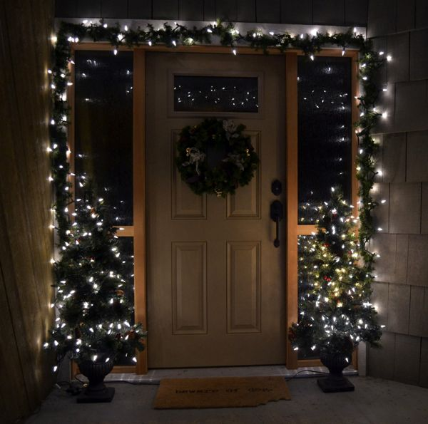 1000+ Images About Front Door/Porch Christmas Decor On