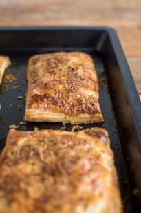 Zucchini-Päckchen: Ein knuspriger Last Minute Snack ⋆ Knusperstübchen