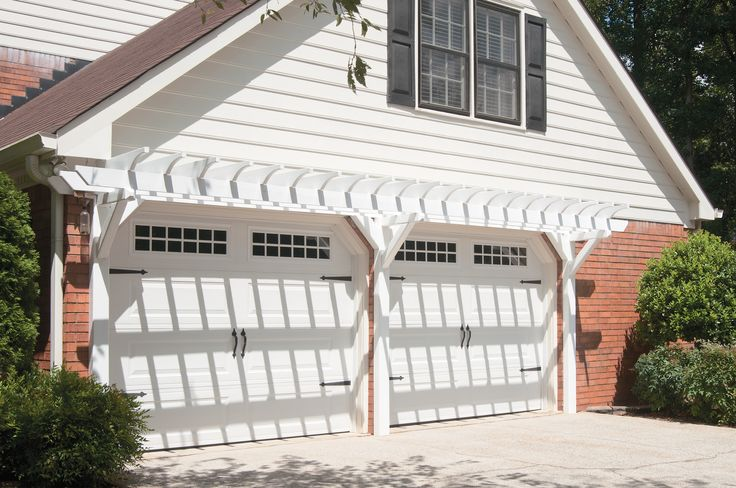 17 best images about garage overhangs on pinterest front for Garage portico