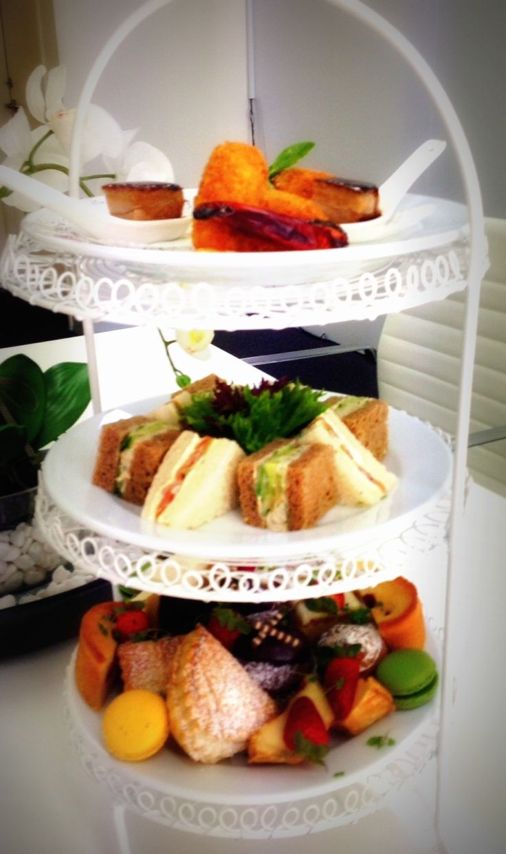 Carve Catering High Tea!