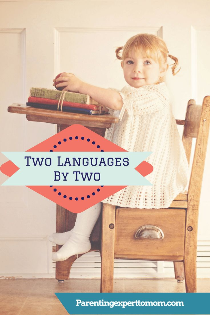 Is it possible to teach your toddler two languages by two? I am about to find out!