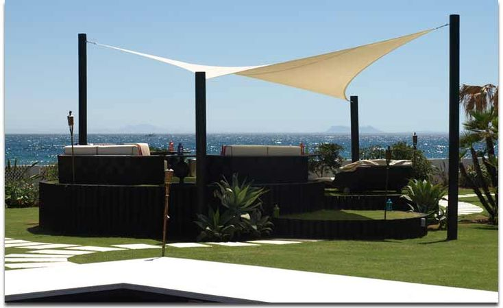 The Shade Sail Company | Shade Sail Products | Marbella Spain
