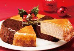 ドトールのミルクレープを大胆にワンホール食べられる幸せクリスマスケーキはこれにきまり 11/1から予約スタートですよ)o( 今年は定番ミルククレープにショコラミルクレープの2種がひとつになった特別バージョン ぜひぜひ自宅でドトール定番ケーキを味わってください  詳しくはこちら http://ift.tt/2ej2yqp