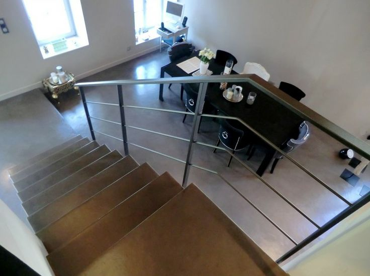 1000 id es sur le th me escalier beton cir sur pinterest escalier en beton cire et b ton color - Escalier en beton cire ...