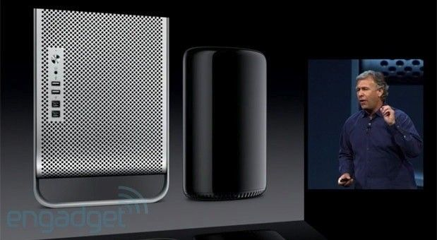 Apple's new Mac Pro announced with cylindrical design, 12-core Intel Xeon CPU, Thunderbolt 2.0 and support for 4K displays #macpro