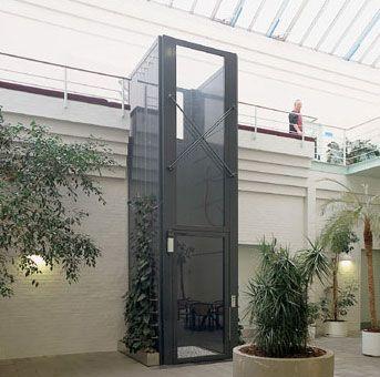 elevador de acessibilidade em escola com enclausuramento #elevadores #elevador…