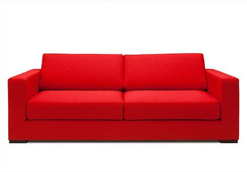 SOFA RIMINI  El sofá minimalista más cómodo del mundo. Su simpleza y elegancia, y su extraordinaria comodidad hacen de nuestro sofá Rimini un personaje querido y admirado por todos.       Disponible en piel y tela. Estructura en madera sólida. Cojinería en espuma de alta densidad y alta resiliencia.
