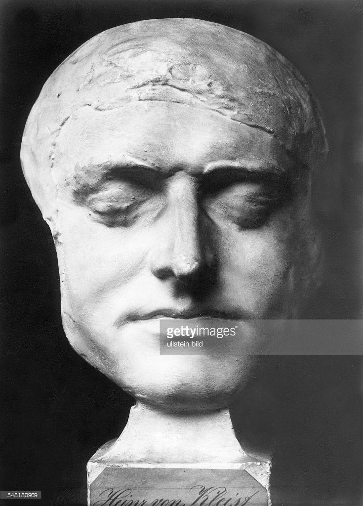 Heinrich von Kleist. Suicide pact with terminally ill lover.