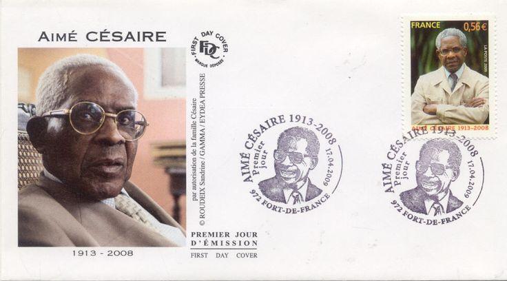 Enveloppe 1 ER Jour Martinique Fort DE France 2009 Aime Cesaire |