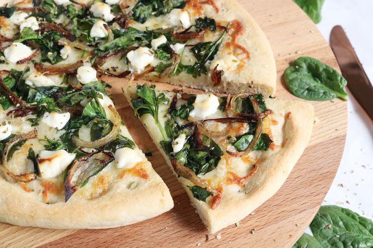 Bloemkool-Pizza met Geitenkaas - Fit Dutchies