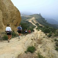 """What is mountain running? Press """"visit"""" button!"""