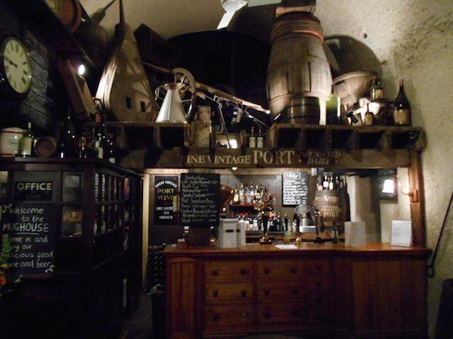 The Mug House pub at London Bridge.