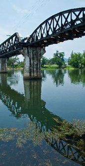 Bridge Over the River Kwai We road the train to BURMA as far as we could go without a visa to enter. PKLASLEY