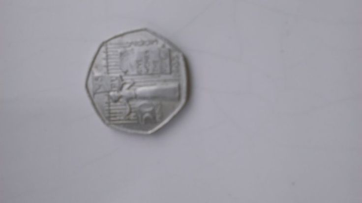 Very Rare 50p coin - Give women the vote