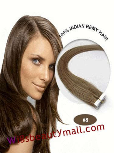 73 best tape in hair extensions images on pinterest remy human wholesale yaki hair extensions fashion 34 inch ash brown8 10pcs straight tape pmusecretfo Choice Image