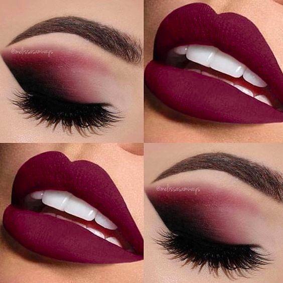 Идея романтичного макияжа ❤