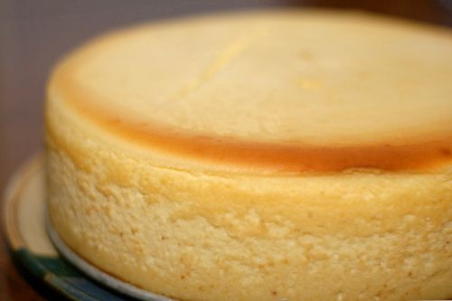 The best New York style cheesecake. From cooks illustrated recipe