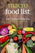 Out of a Macro? Here's What to Eat: IIFYM & Flexible DietingElizabeth Nagelmiller