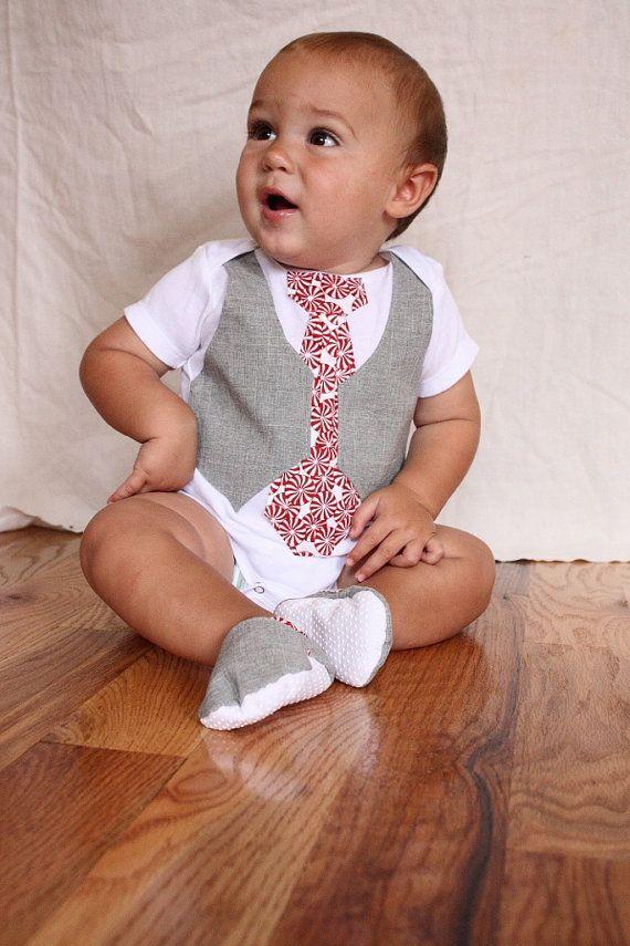 Baby boy Christmas shirt and shoes, Christmas Gift set, boy Christmas shirt with shoes on Etsy, $37.99
