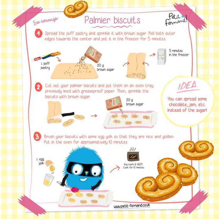 Palmier Biscuits Recipe