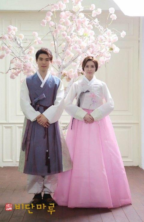 비단마루 신랑신부 한복 hanbok