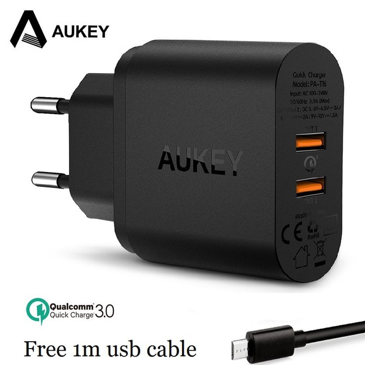 Best Price AUKEY Fast Charger Quick Charge Dual QC 3.0 USB Phone Universal Wall Travel Charger For Samsung galaxy S8 For Xiaomi Redmi 5 4x #AUKEY #Fast #Charger #Quick #Charge #Dual #Phone #Universal #Wall #Travel #Samsung #galaxy #Xiaomi #Redmi