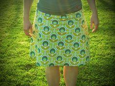 de zussen: rok met tailleband # 2
