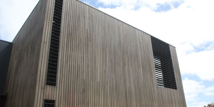 Vertical spotted gum shiplap cladding - Google Search