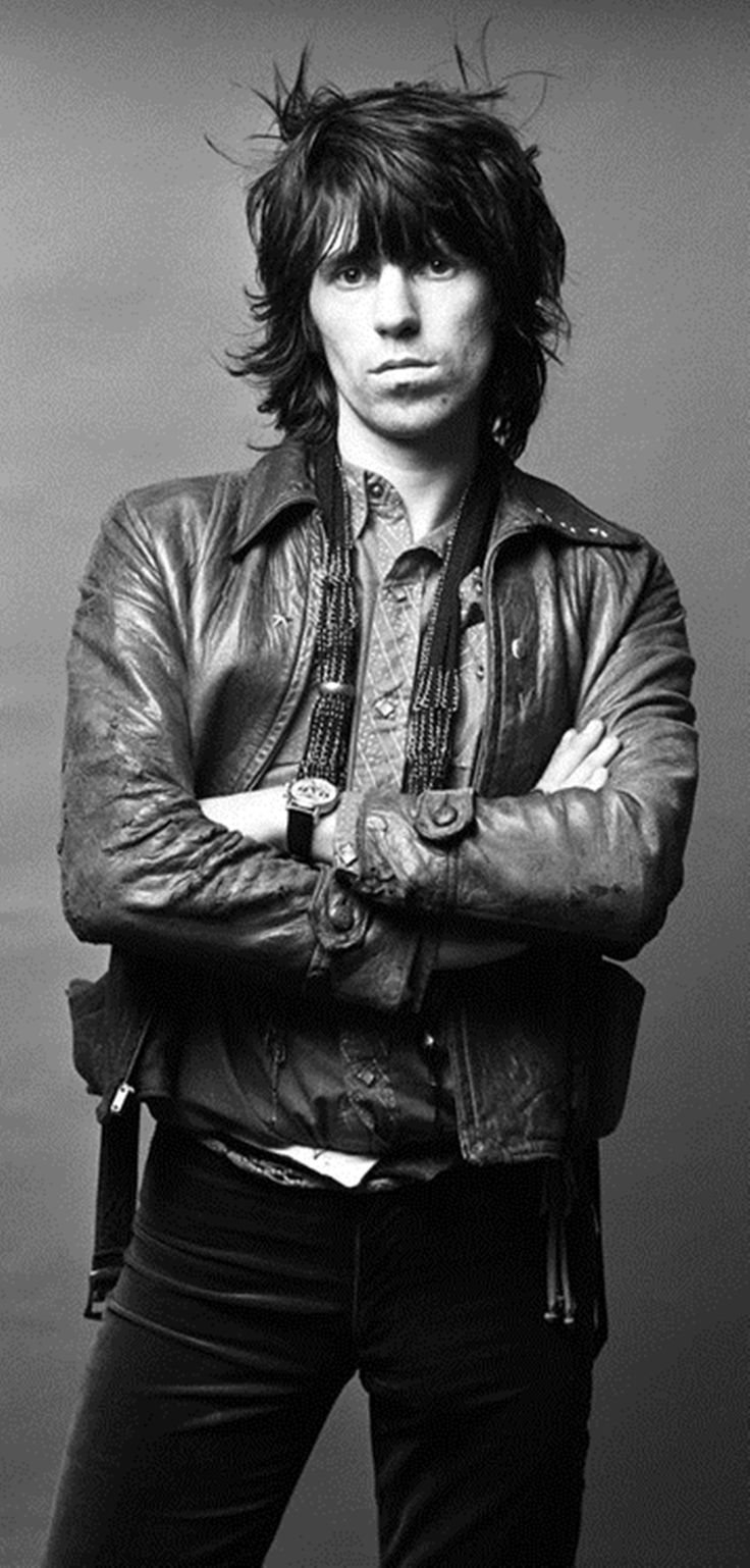 Keith Richards at his finest. Swoon.