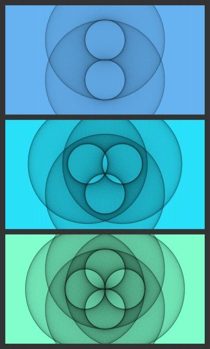 Beta, Gamma, Delta, sacred geometry