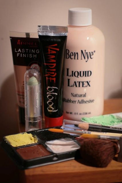how to make fake cuts with liquid latex