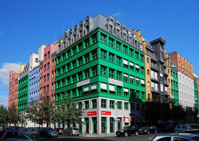 Aldo Rossi Schutzenstrasse, Berlin