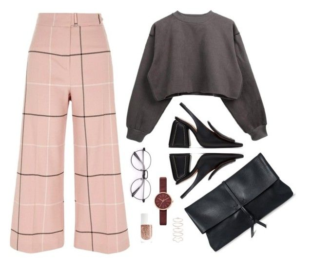 """""""plaid and wide"""" by tara-subono on Polyvore"""