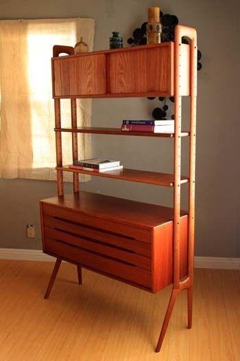 mid century danish bookcase - Google Search