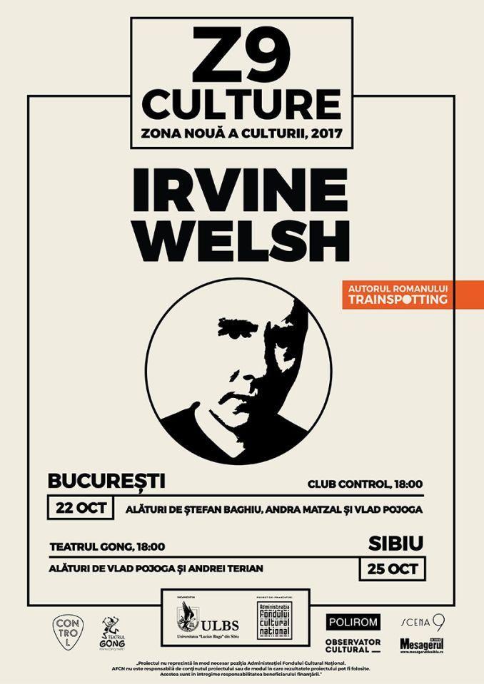 Celebrul scriitor Irvine Welsh, autorul bestsellerului Trainspotting, se va afla în România în perioada 21-28 octombrie 2017. Unul dintre cei mai îndrăgiți scriitori ai lumii, precum și unul dintre…