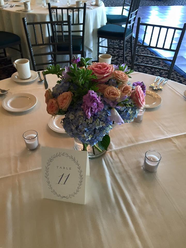 Summer centerpieces weddings at van patten pinterest