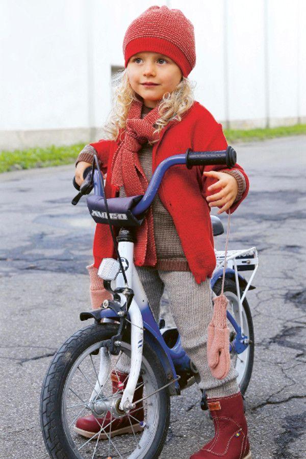 Disana Baby Mütze Beanie melange-rot, Gr.42-46   Kinderkleidung -  Kindermode in Bio Qualität   Pinterest   Beanie 9de5ff6efd