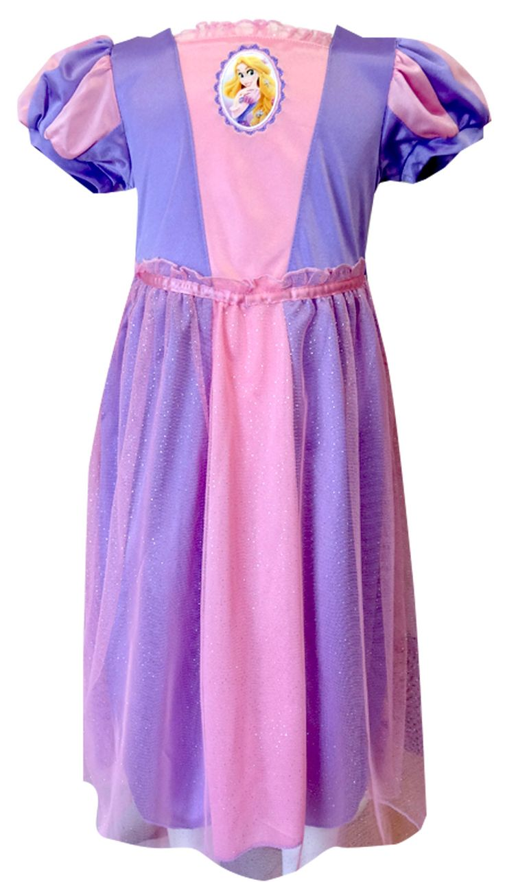 Disney Tangled Dress Like A Princess Rapunzel Toddler Nightgown   If your princess likes...