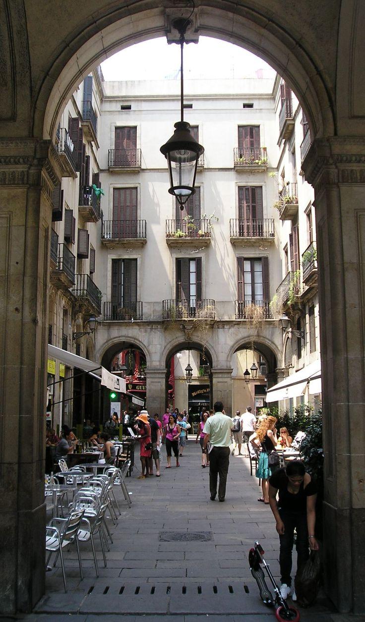 Plaça Reial, Barcelona. España