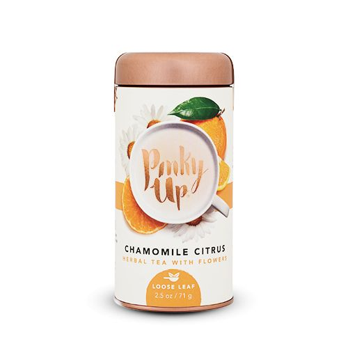 Is stress weighing you down like a bag of hammers? Do you feel a cold coming on but don't want to admit it? Let this zesty chamomile blend lift you up into emotional nirvana. Those deadlines can wait!<ul><li>Naturally calorie and caffeine free</li><li>Pre