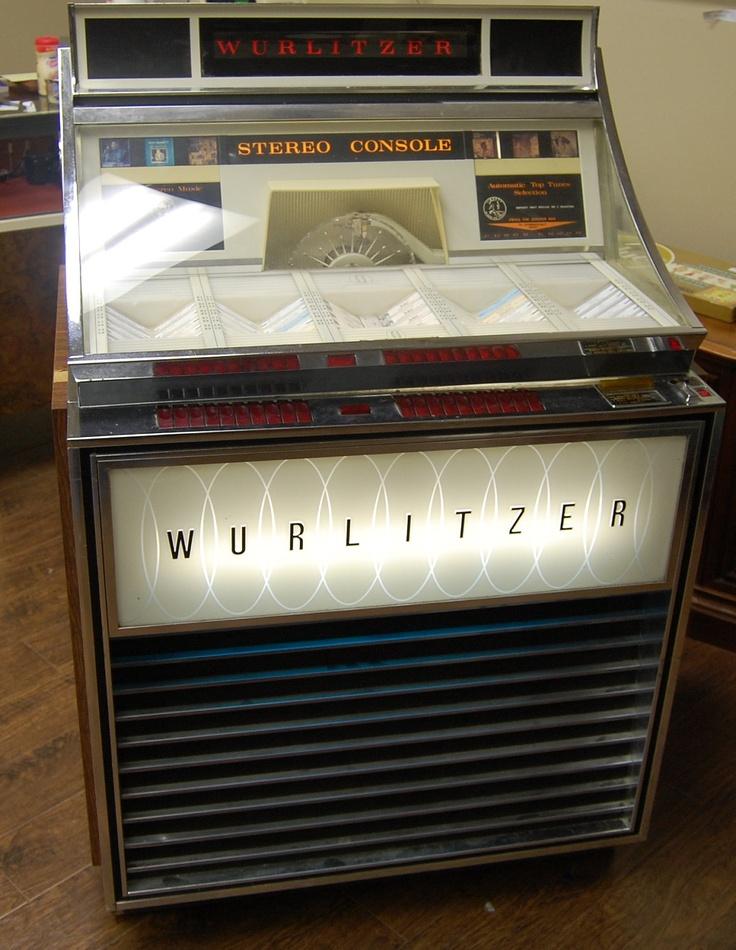 wurlitzer jukebox.