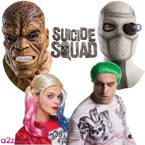 Suicide squad joker #harley croc #deadshot mask wig accessory #halloween costume,  View more on the LINK: 	http://www.zeppy.io/product/gb/2/142088538668/