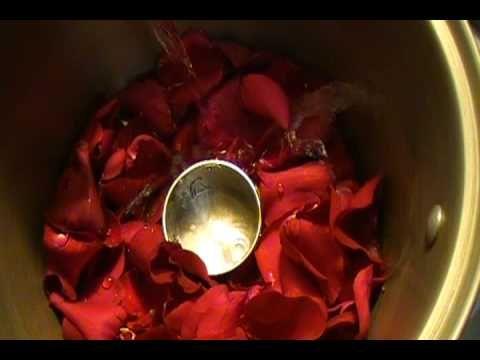 Como Hacer Agua De Rosas Parte 1 - YouTube