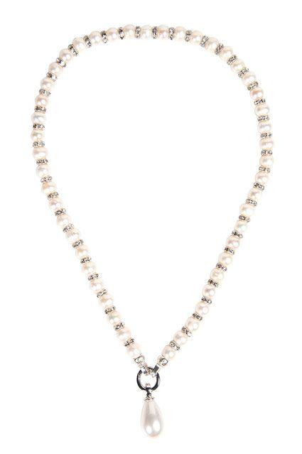Flying Saucers Kagi Cream Luxe Pearls $249, Kagi Cream Opera Pendant $119