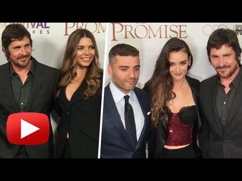 Oscar Isaac, Charlotte Le Bon, Christian Bale - The Promise Premiere, NYC