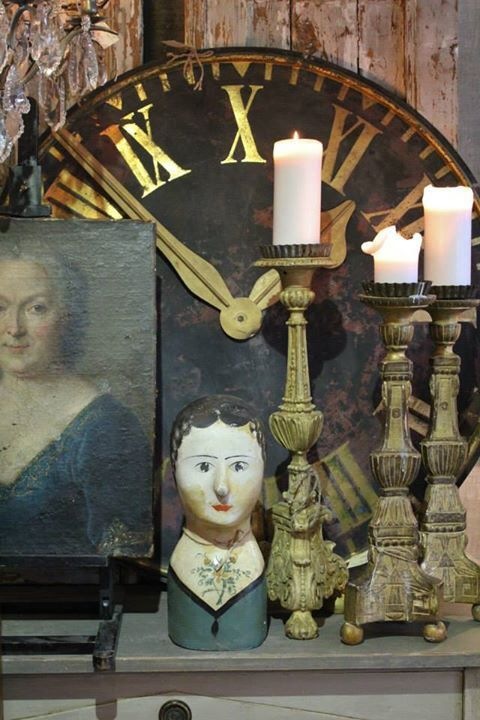 33 best milliners heads marotte images on Pinterest Vintage - k chen antik stil